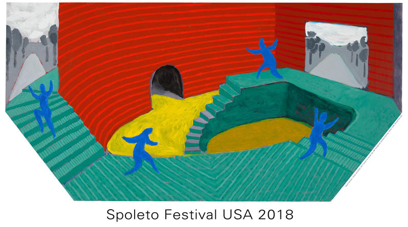 This Year's Spoleto Poster by David Hockney