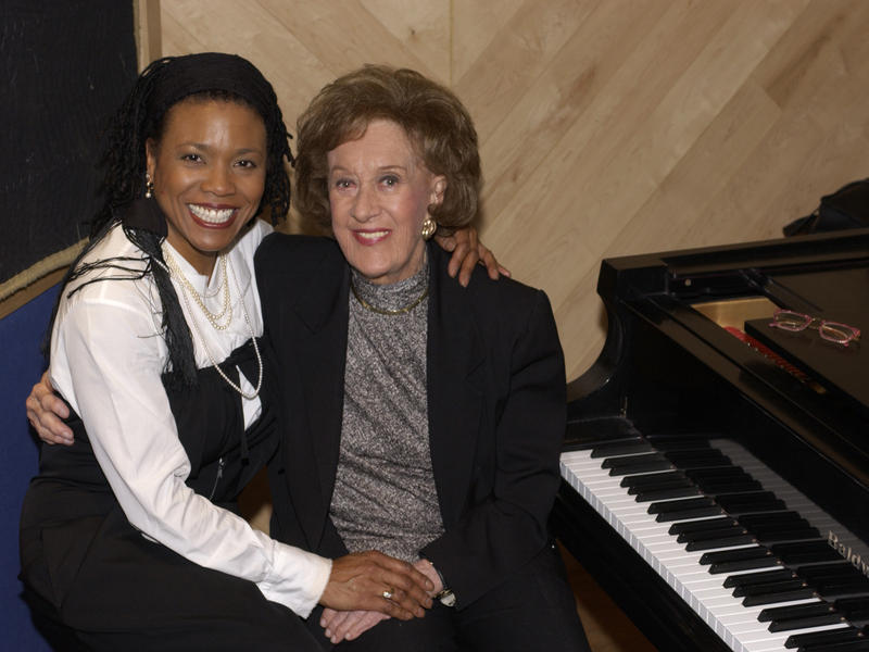 Dee Dee Bridgewater and Marian McPartland, Manhattan Beach Studios, New York City, 2003