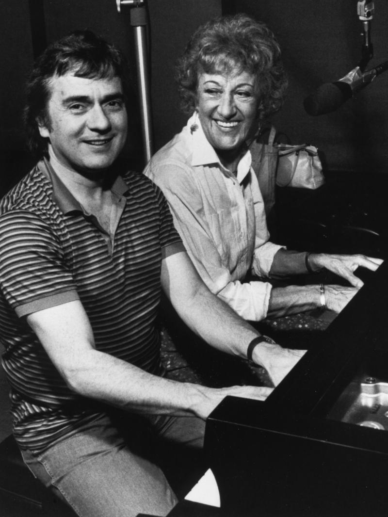 Marian McPartland and Dudley Moore, New York, 1983