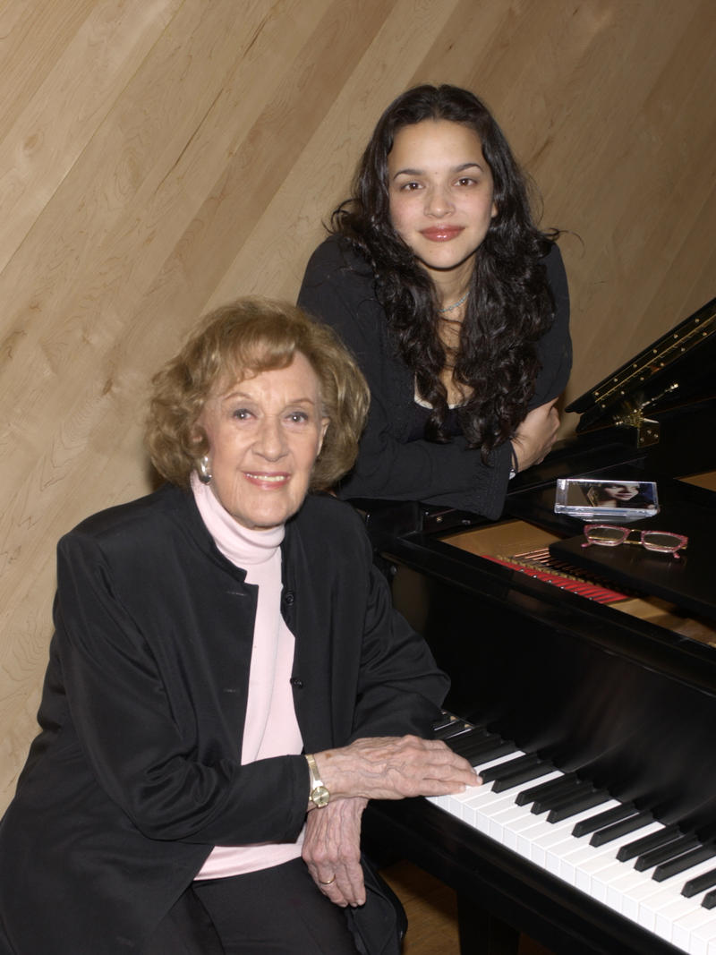 Marian McPartland and Norah Jones, Manhattan Beach Studios, NYC, 2002