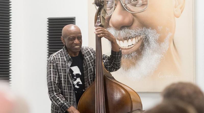 Reggie Workman at the Charleston Jazz Academy.