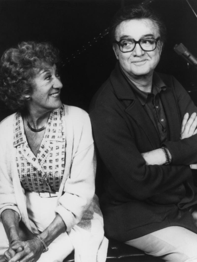 Marian McPartland and Steve Allen,1988