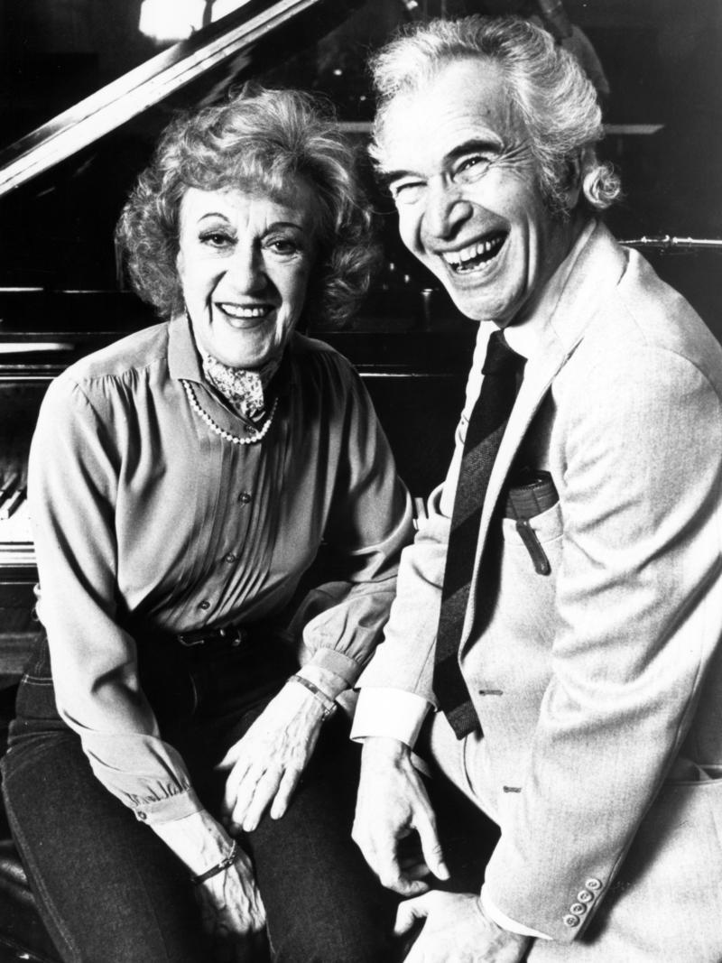 Marian McPartland with Dave Brubeck, 1984