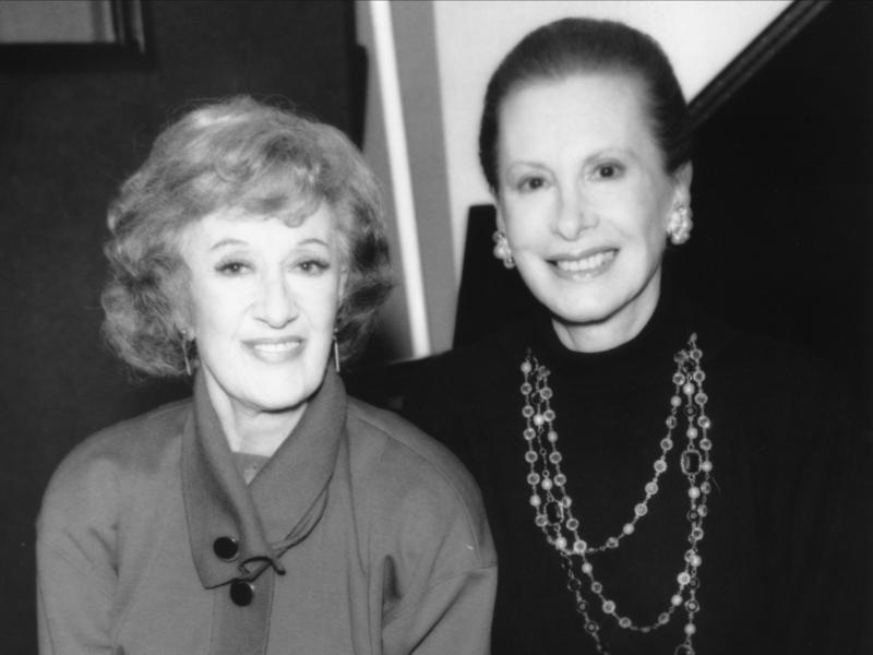 Marian McPartland and Barbara Carroll, 1991