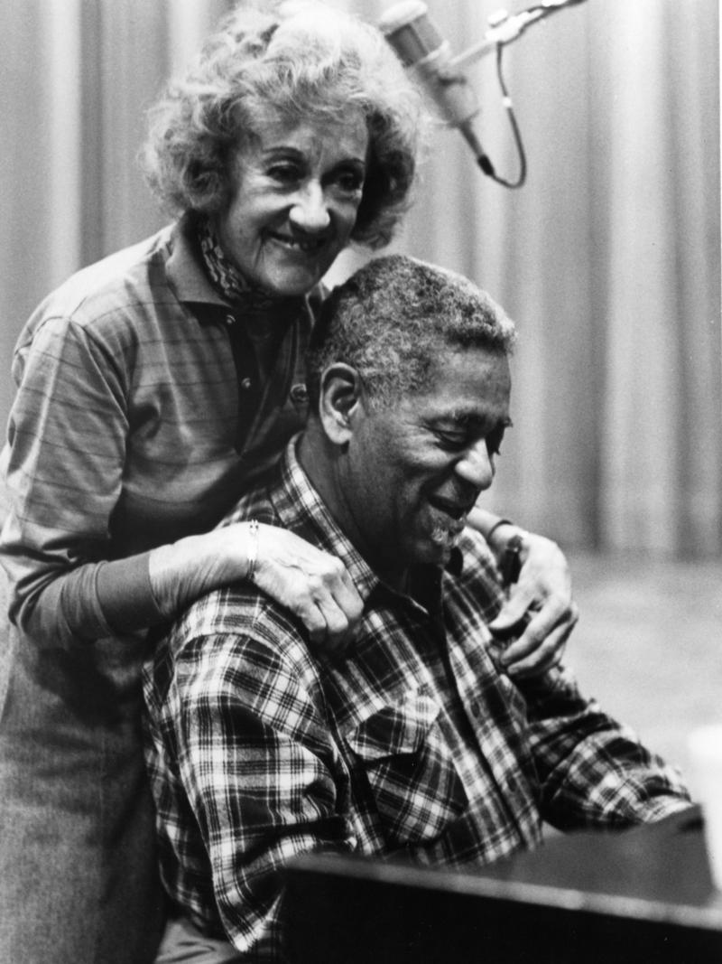 Marian McPartland and Dizzy Gillespie, 1985