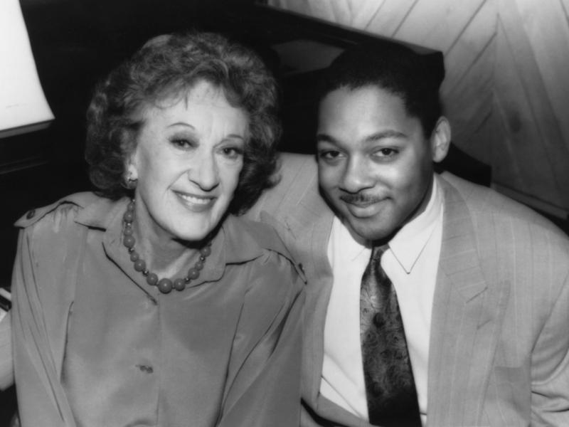 Marian McPartland and Wynton Marsalis, New York, 1990