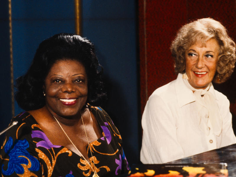 Mary Lou Williams and Marian McPartland, New York City, 1978