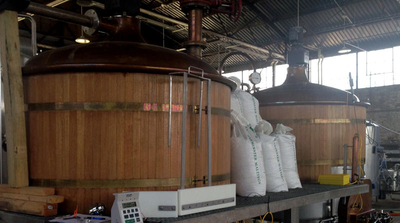 These vats at Columbia microbrewery Hunter Gatherer yield locally crafted beer popular with Midlands beer connoisseurs.