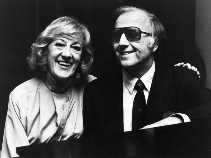 Marian McPartland and George Shearing, New York City, 1980