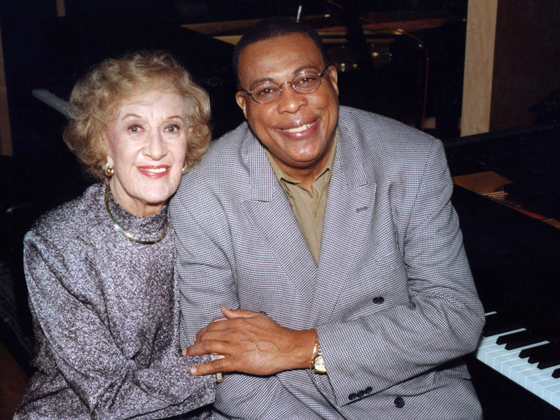 Marian McPartland and Chucho Valdés, 2000