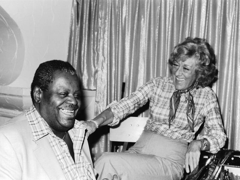 Marian McPartland and Oscar Peterson, New York City, 1980
