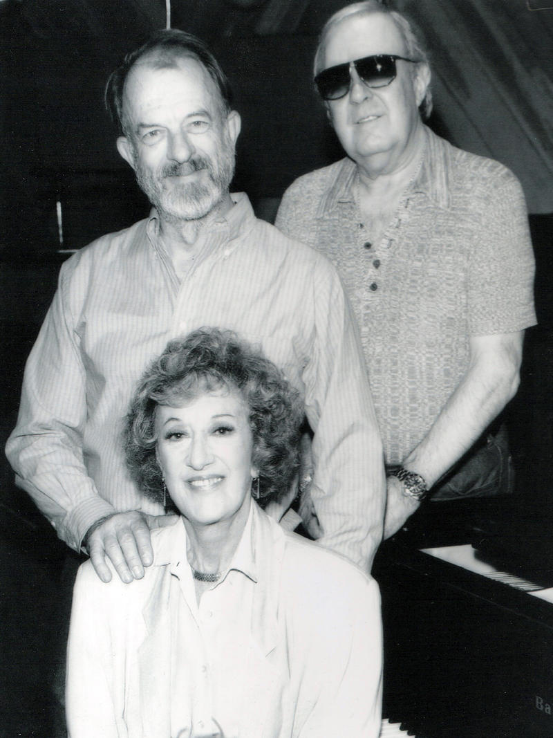Marian McPartland with Bill Crow (bass) and Joe Morello (drums), New York, 1991