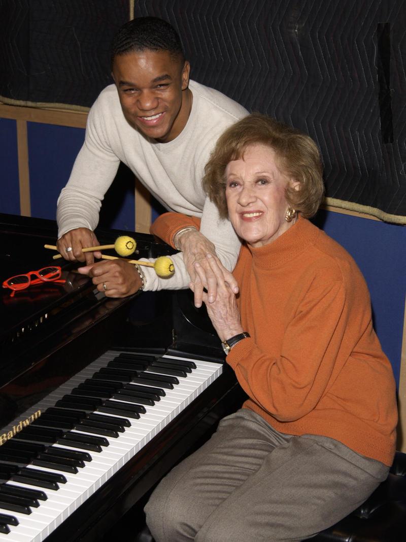 Marian McPartland and Stefon Harris, New York, 2002