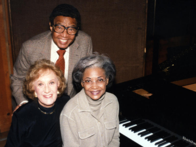 Marian McPartland with Billy Taylor and Nancy Wilson, New York, 1998