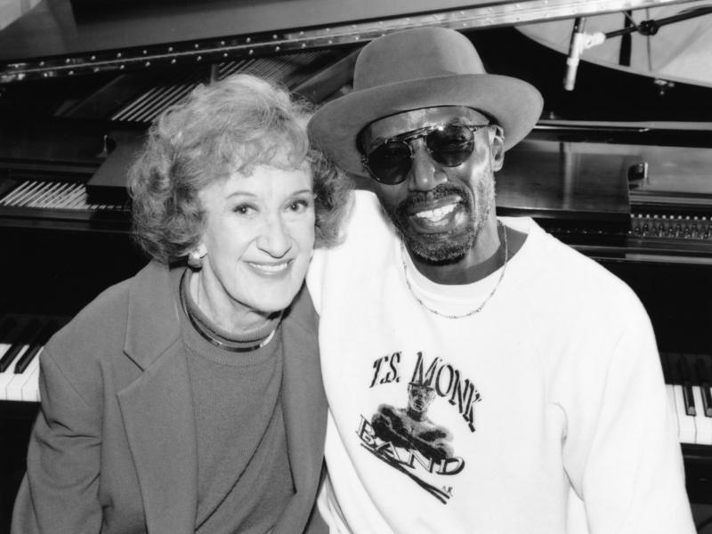 Marian McPartland and T. S. Monk, New York, 1995
