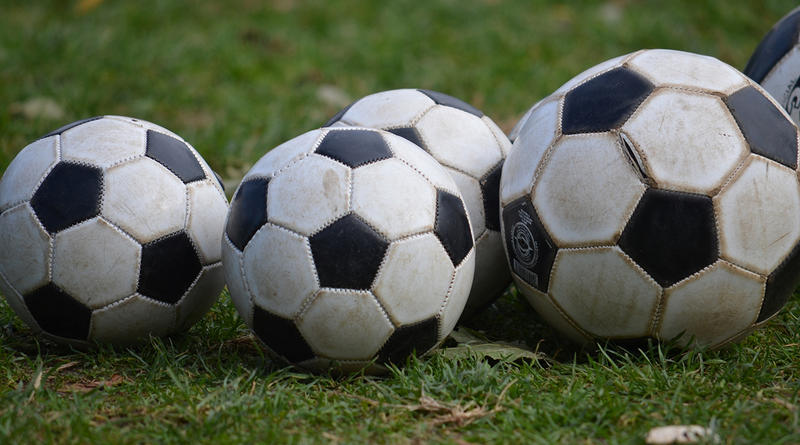 File photo: Soccer balls