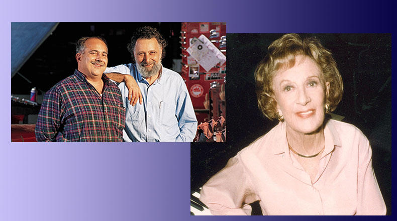 Ray Magliozzi, the late Tom Magliozzi, and the late Marian McPartland.