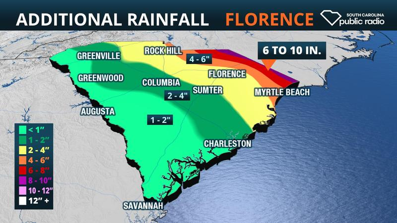 Additional rain map