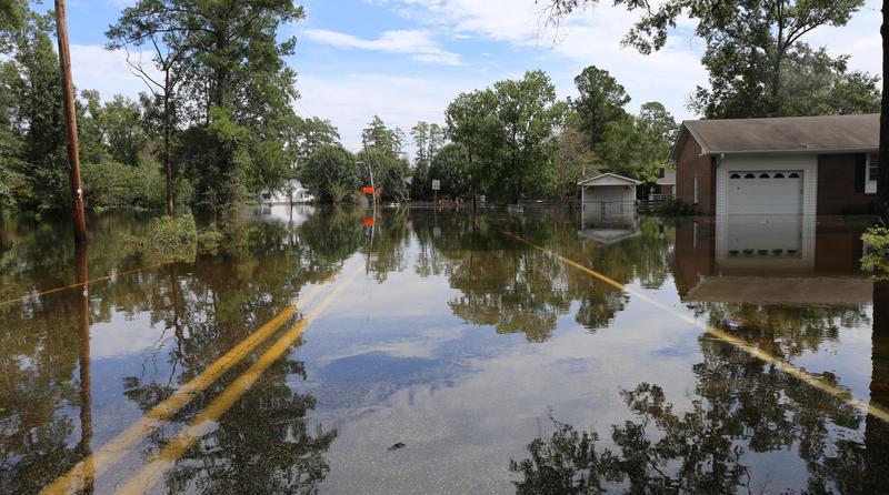 Neighborhood near Crabtree Swamp Evacuated by National Guard