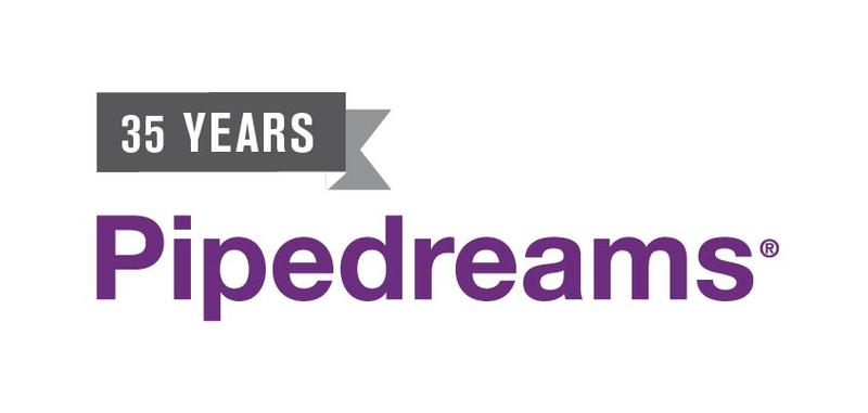 Pipedreams - 35 years logo