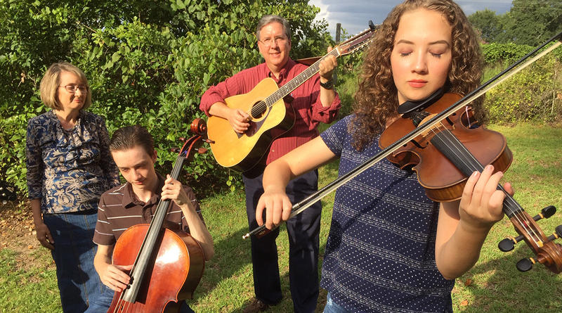 West Columbia teen Ella Thomas plays gospel with her family, here, as well as classical with the South Carolina Youth Philharmonic and bluegrass with the band Palmetto Blue.  Thomas was last year's South Carolina Junior Old-Time Fiddle Champion.