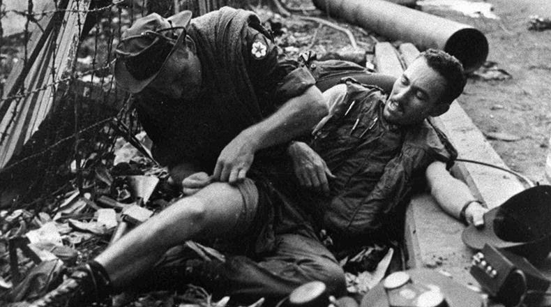 Soldier injured May 6, 1968