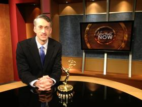 Matt with his 2013 Emmy