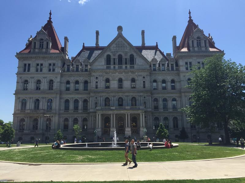 New York State Capitol in Albany, N.Y.