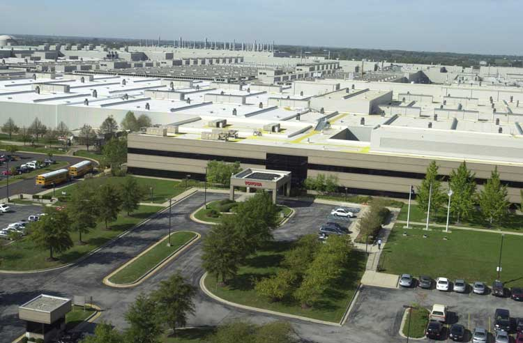 Toyota Motor Manufacturing Awards Grant For Environmental