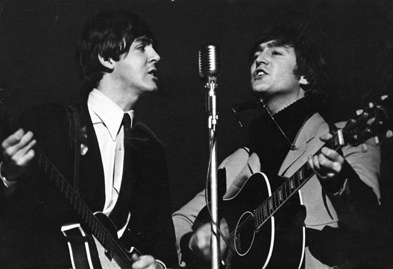 Songs of John Lennon and Paul McCartneyYoung John Lennon And Paul Mccartney
