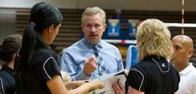 MSU Volleyball Head Coach Jaime Gordon