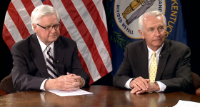 Governor Steve Beshear and Congressman Hal Rogers