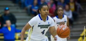 Junior guard Almesha Jones