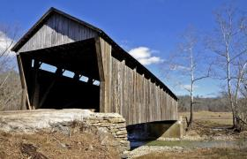 Cabin Creek Covered Bridge (Lewis County, KY)