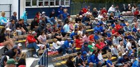 The Morehead State baseball program had its largest home crowd since 1994 on Saturday, May 3.