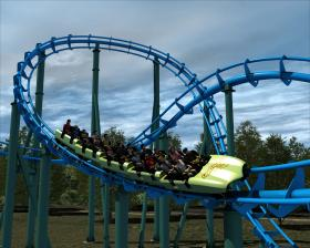 Lightning Run is scheduled to open at the newly renovated Kentucky Kingdom and Hurricane Bay in May of 2014.