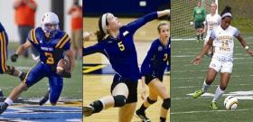 L to R: Cyrus Stahm, Hannah Sigala, Angela Black