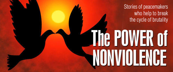 """""""The Power of Nonviolence: The Spirituality of Peacemaking"""" (February 6th @ 10am)"""