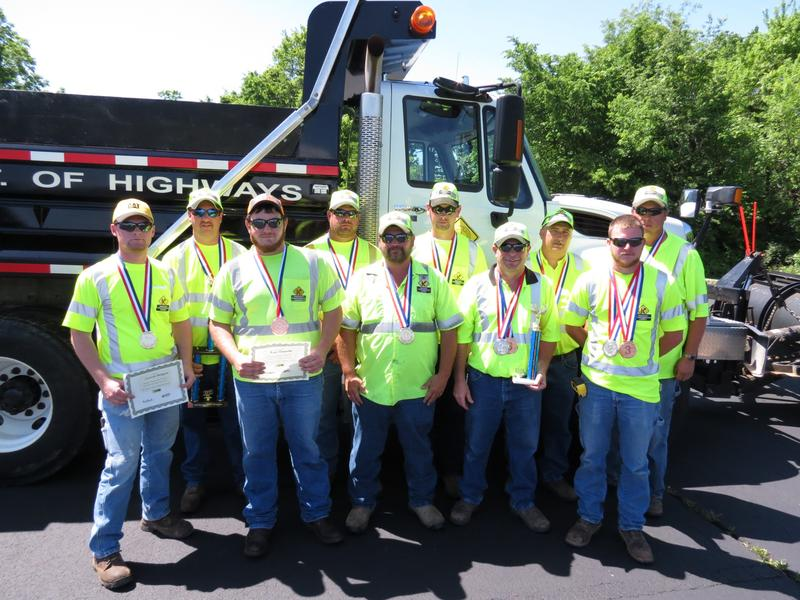 Winners of this summer's District 9 Safety and Training Roadeo