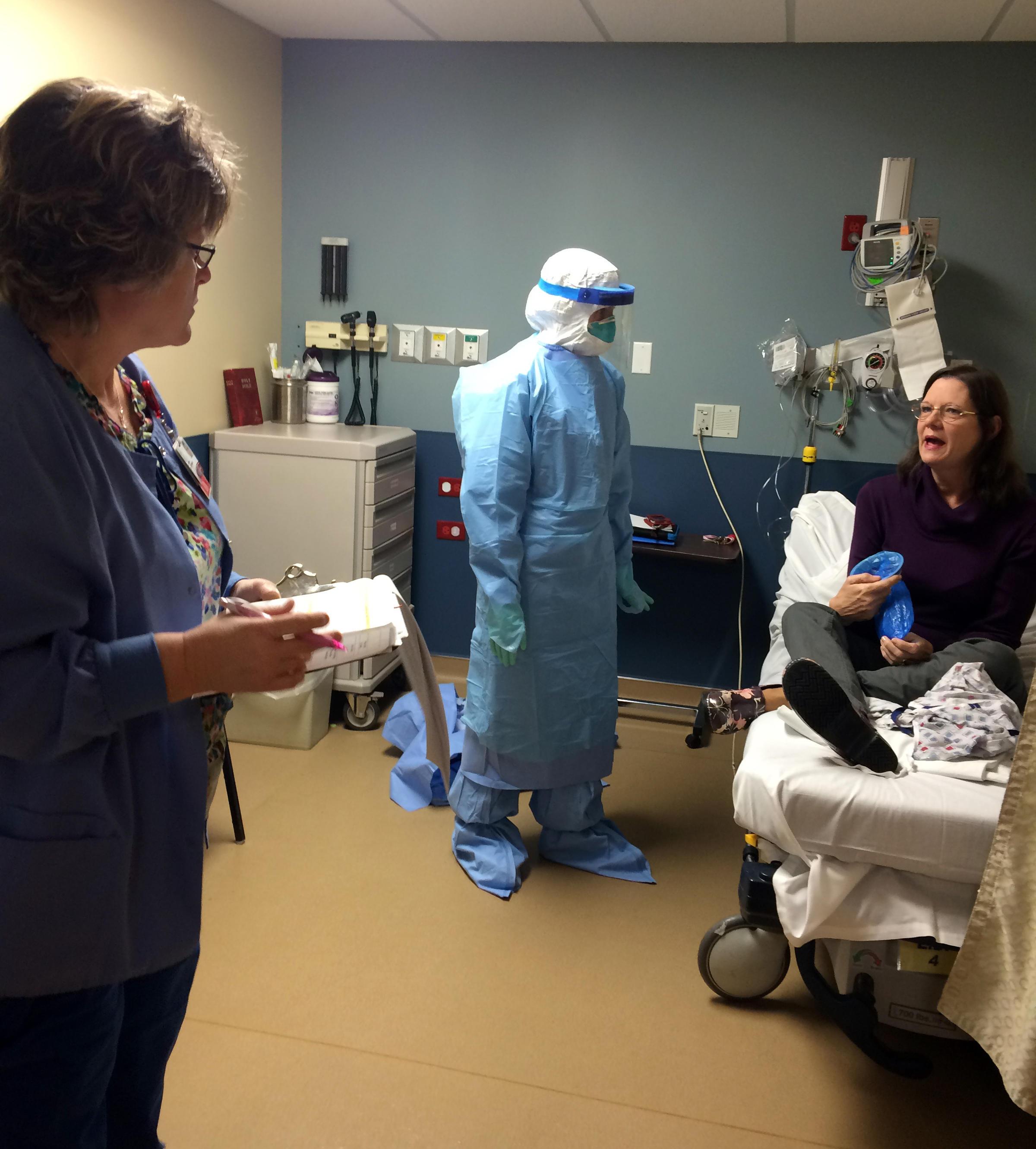 St Claire Regional Conducts Ebola Drill Wmky