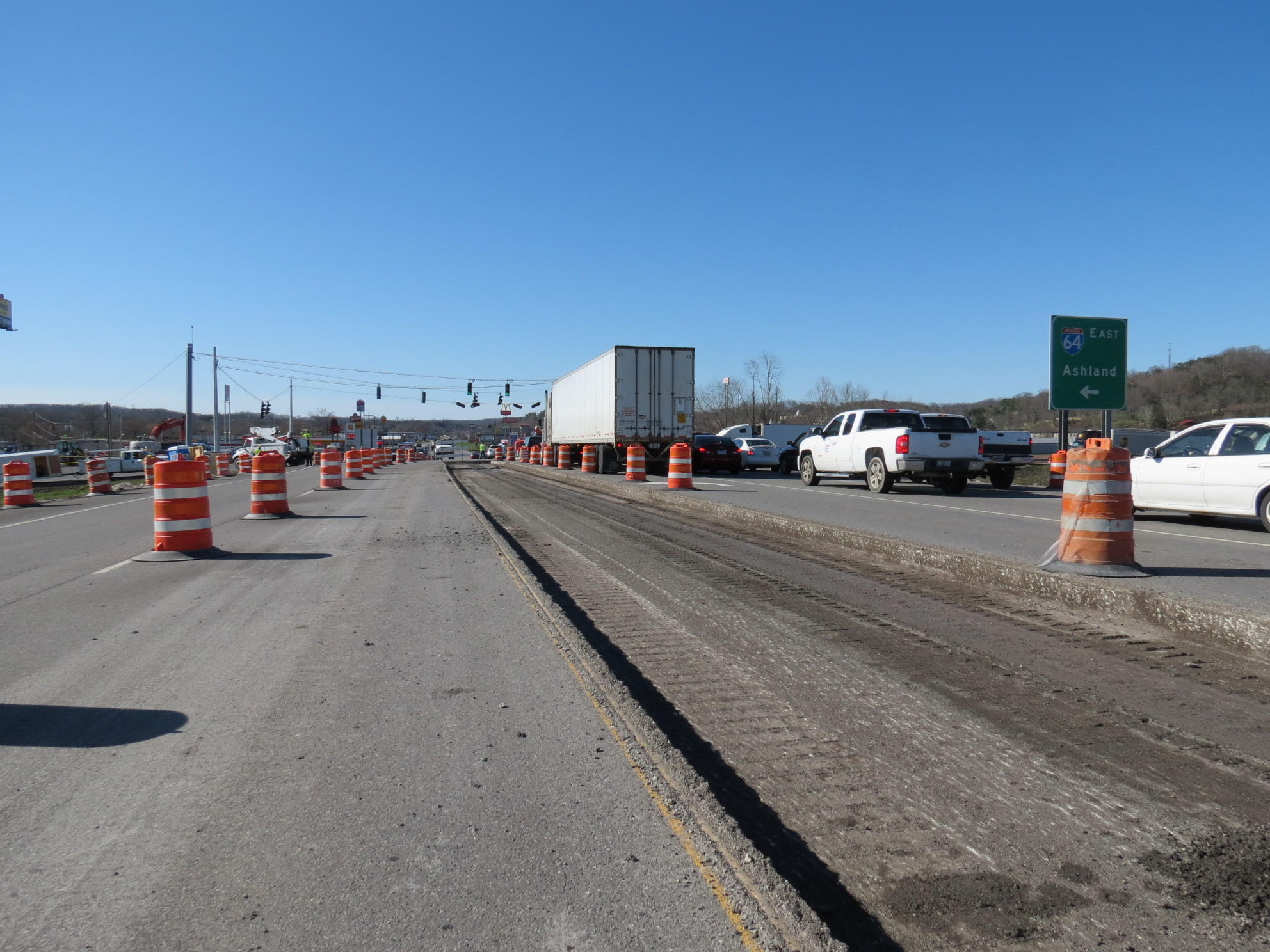 Lane Closures at I-64 and KY 7 Intersection in Grayson