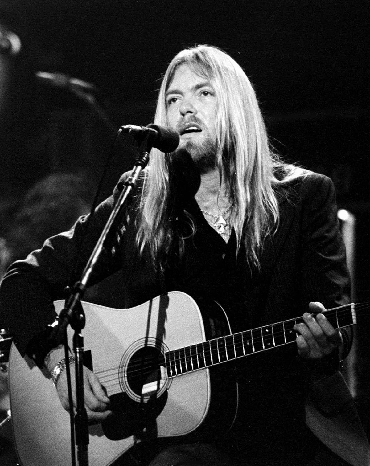 Gregg Allman Vocals  Tour Beacon