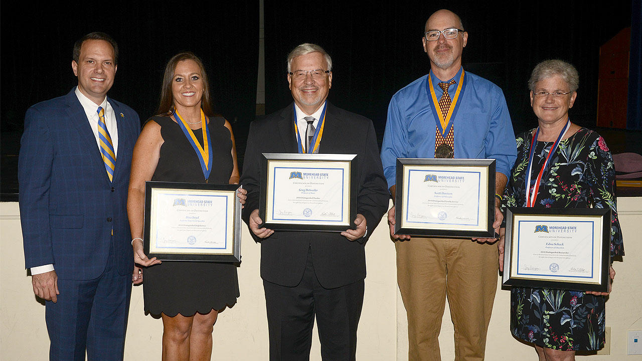 msu faculty and staff members receive award recognition at fall