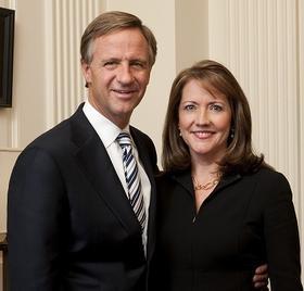 Gov. Bill Haslam and First Lady Crissy Haslam