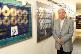Naxos records founder Klaus Heymann.