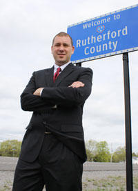 Rutherford County Sheriff Robert Arnold