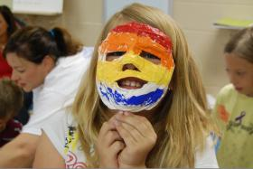 Alive Hospice's Camp Forget-Me-Not is coming up June 5-7 in Murfreesboro. May 28 is the last day to register. Pictured: Camp Forget-Me-Not includes a variety of activities, including creative projects, that help kids process grief by identifying and expressing what they're feeling. It's also plenty of fun by design!