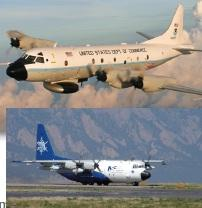 Look for these two specially equipped air-quality research aircraft making daily flights out of the Smyrna Airport