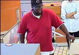 Murfreesboro Police are looking for the man in this bank photo in connection with a robbery of the Bank of America at 120 E. Main St. June 28, 2013