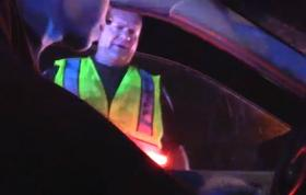 Murfreesboro resident Chris Kalbuagh video taped his interaction with Deputy A. J. Ross at a Rutherford County DUI checkpoint on July 4, 2013.